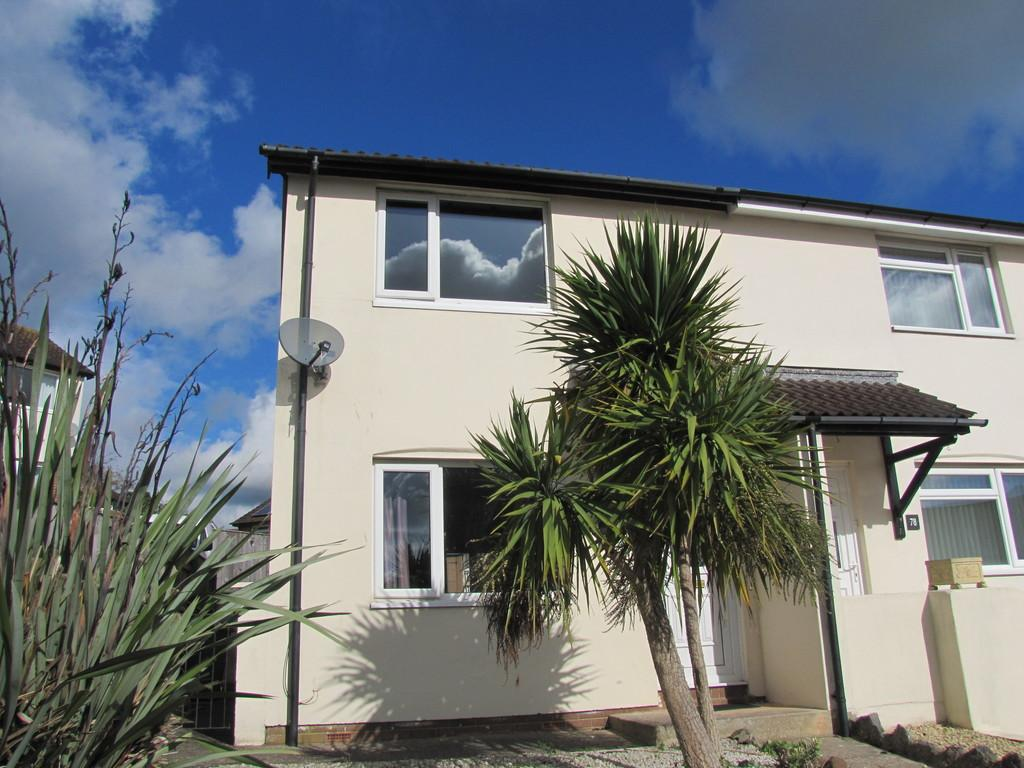 2 Bedrooms Semi Detached House for sale in Headway Rise, Teignmouth, TQ14 9UJ