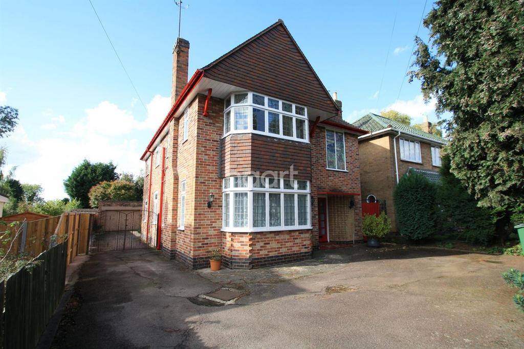 5 Bedrooms Detached House for sale in Leicester Road, Glen Parva, Leicester