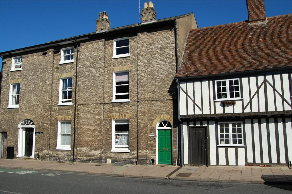 4 Bedrooms Terraced House for sale in Risbygate Street, Bury St Edmunds, Suffolk, IP33