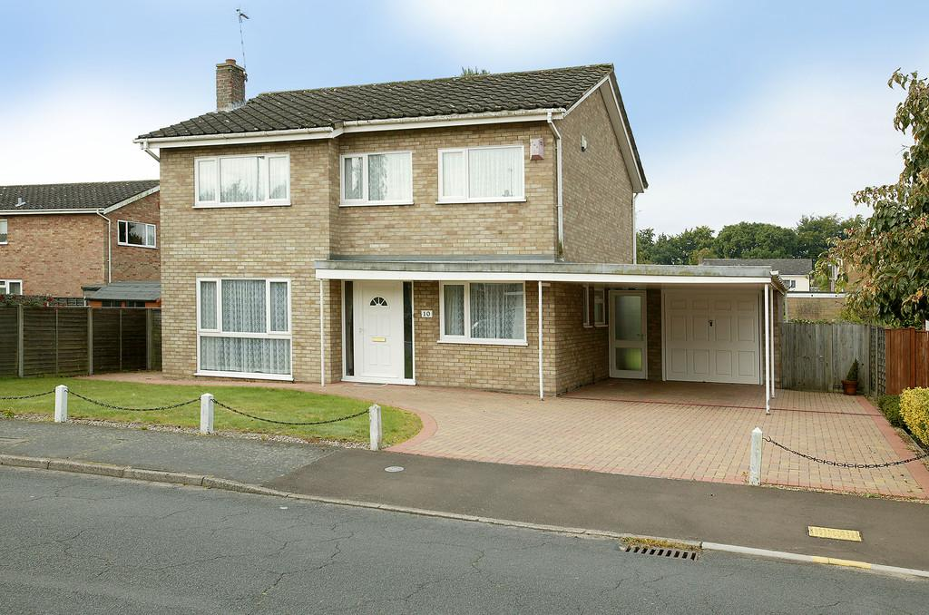 4 Bedrooms Detached House for sale in Sunningdale, Norwich