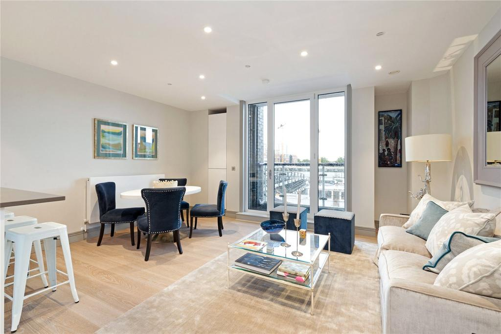 2 Bedrooms Flat for sale in Calico House, Plantation Wharf, Battersea, SW11