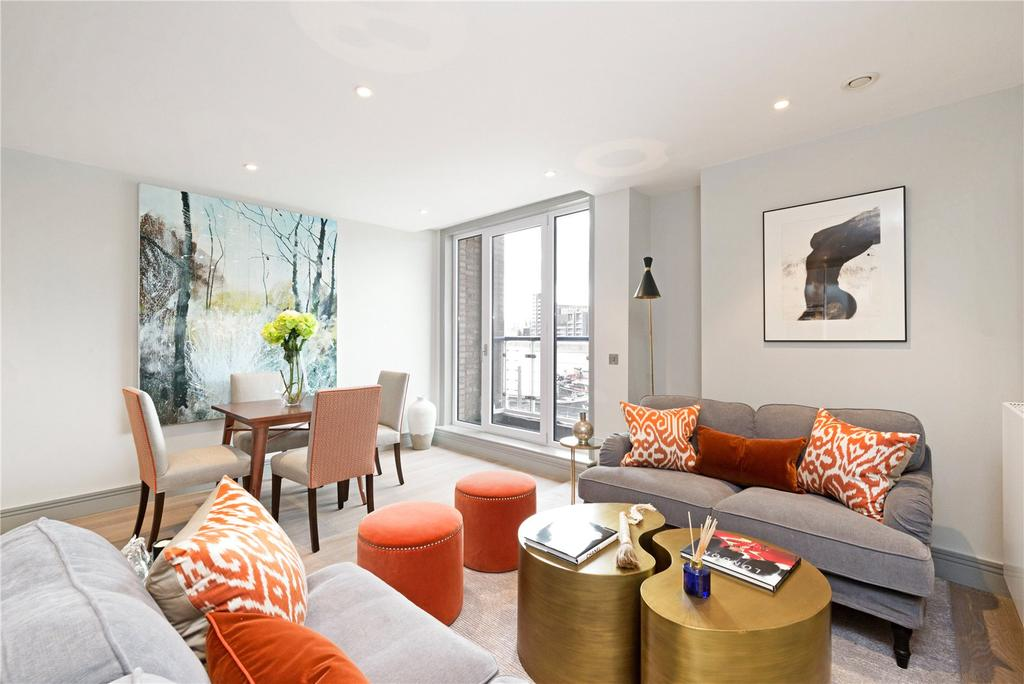 3 Bedrooms Flat for sale in Ivory House, Plantation Wharf, Battersea, London, SW11
