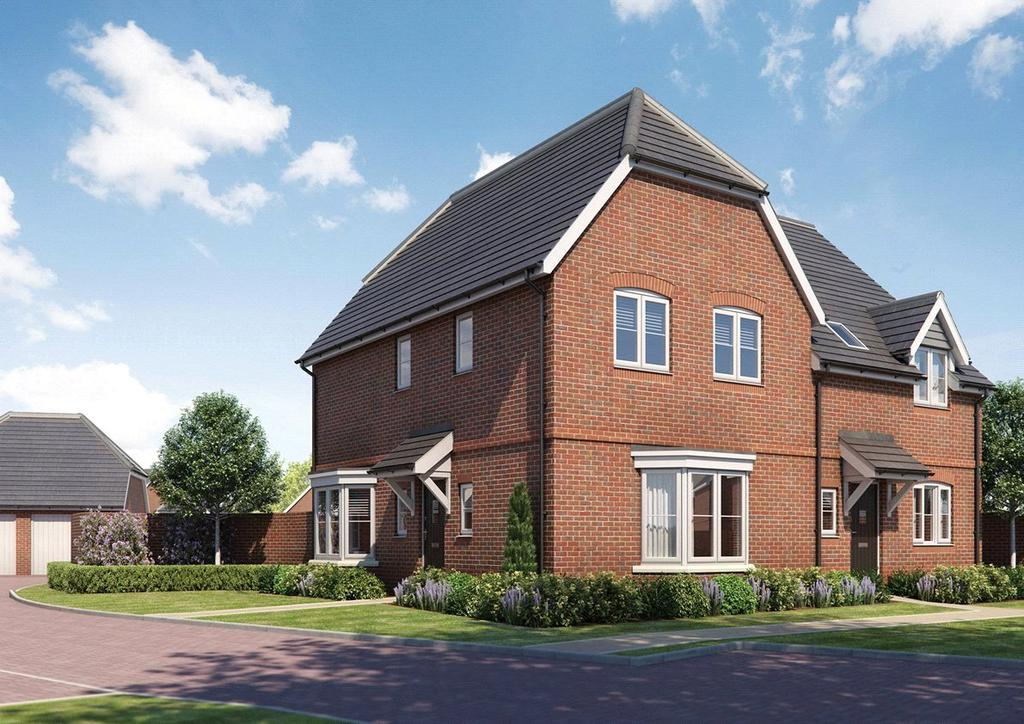 3 Bedrooms Semi Detached House for sale in Plot 13, Latton Place, Kingston Bagpuize, Abingdon Road, Oxfordshire, OX13
