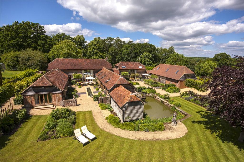 5 Bedrooms Equestrian Facility Character Property for sale in Petworth Road, Wisborough Green, Billingshurst, West Sussex, RH14