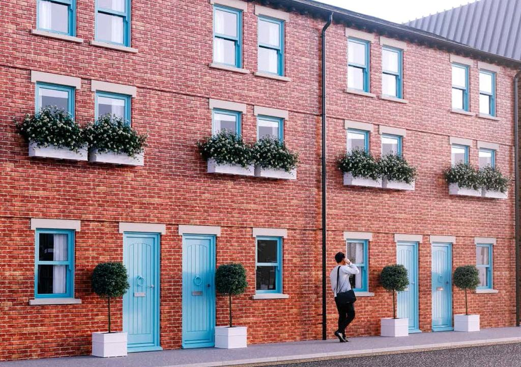 4 Bedrooms Terraced House for sale in Maltsters Cottages, High Orchard Street, Bakers Quay, Gloucester Docks, GL2