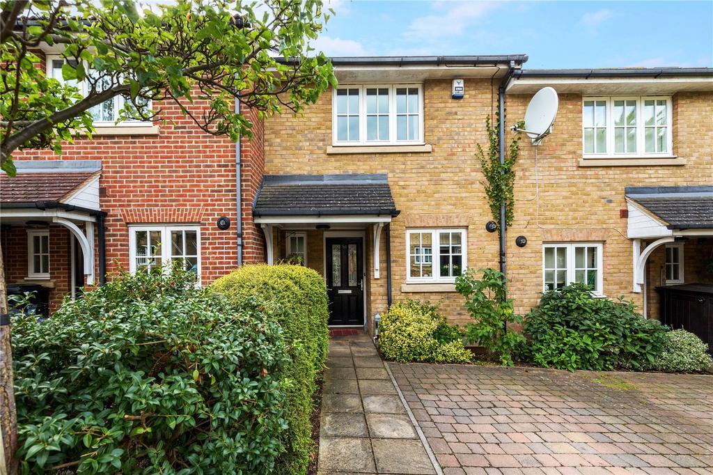 4 Bedrooms Terraced House for sale in Lavender Crescent, St. Albans, Hertfordshire, AL3