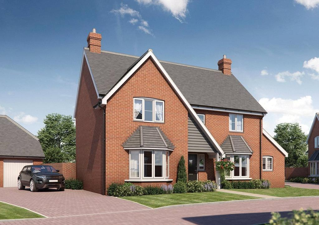 5 Bedrooms Detached House for sale in Plot 10, Latton Place, Kingston Bagpuize, Abingdon Road, Oxfordshire, OX13