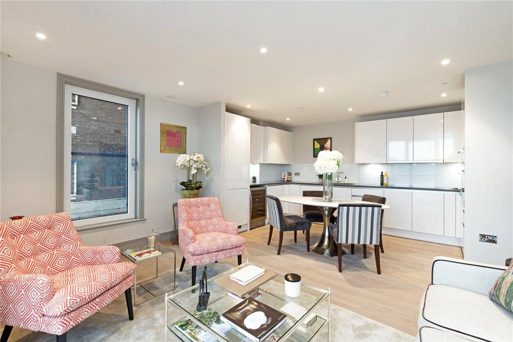 2 Bedrooms Flat for sale in Ivory House, Plantation Wharf, Battersea, SW11