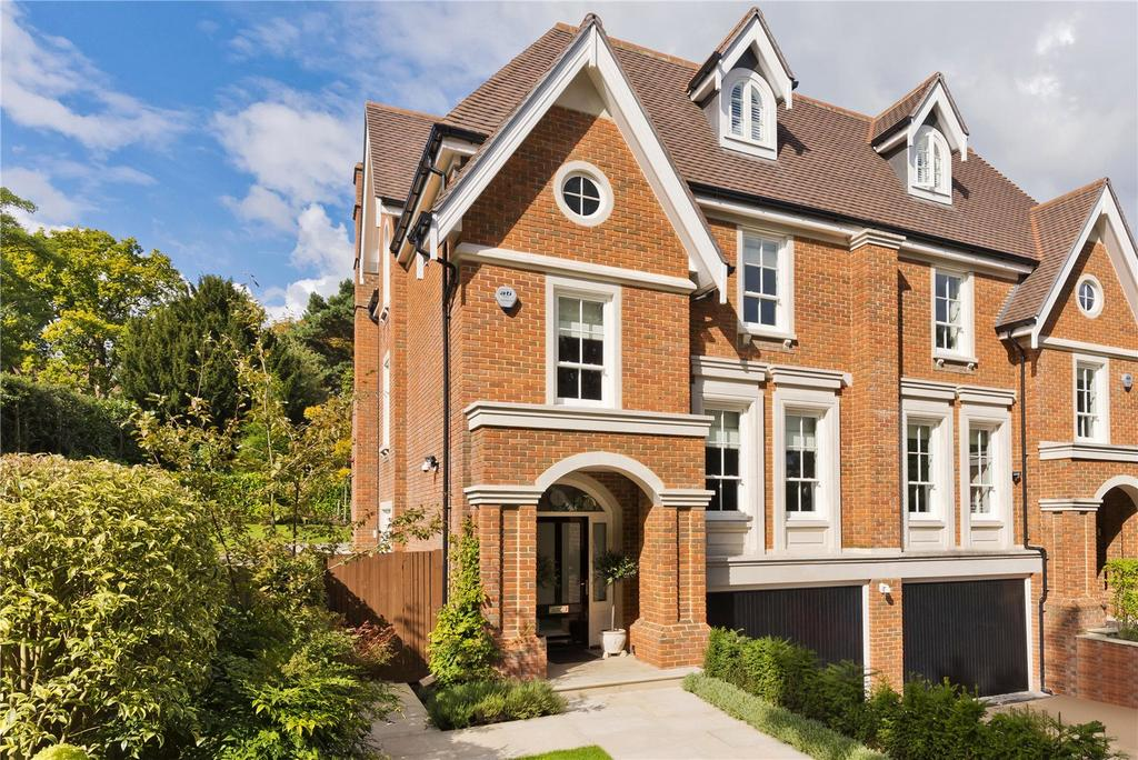 4 Bedrooms Semi Detached House for sale in Esher Park Avenue, Esher, Surrey, KT10