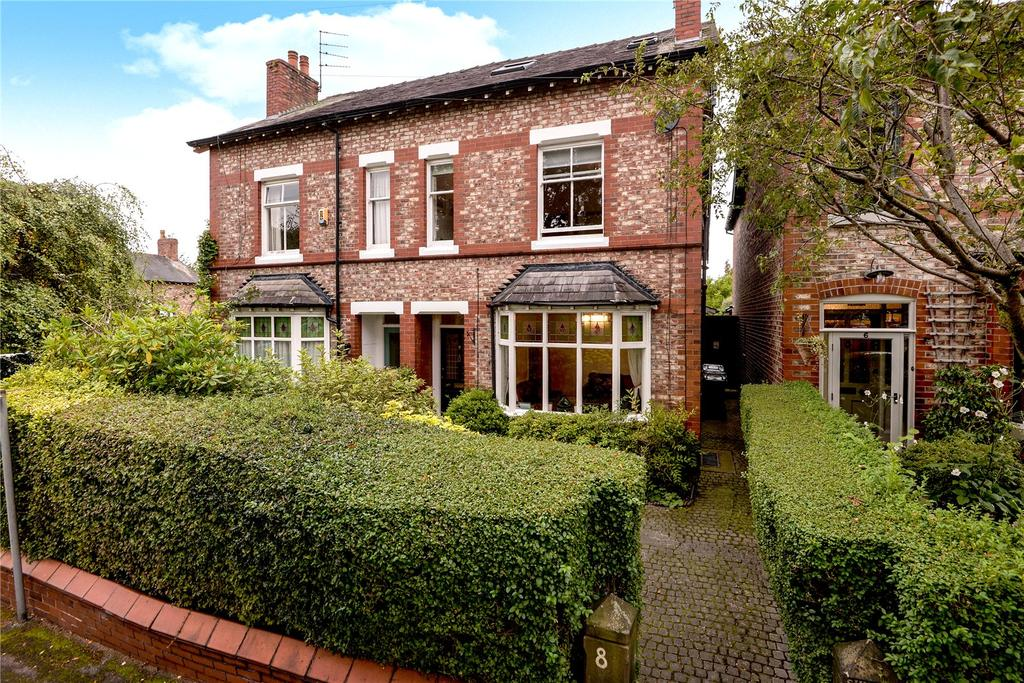 4 Bedrooms Semi Detached House for sale in Bourne Street, Wilmslow, Cheshire, SK9