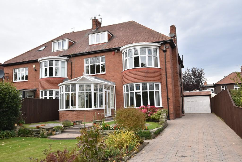 4 Bedrooms Semi Detached House for sale in Barnes View, High Barnes