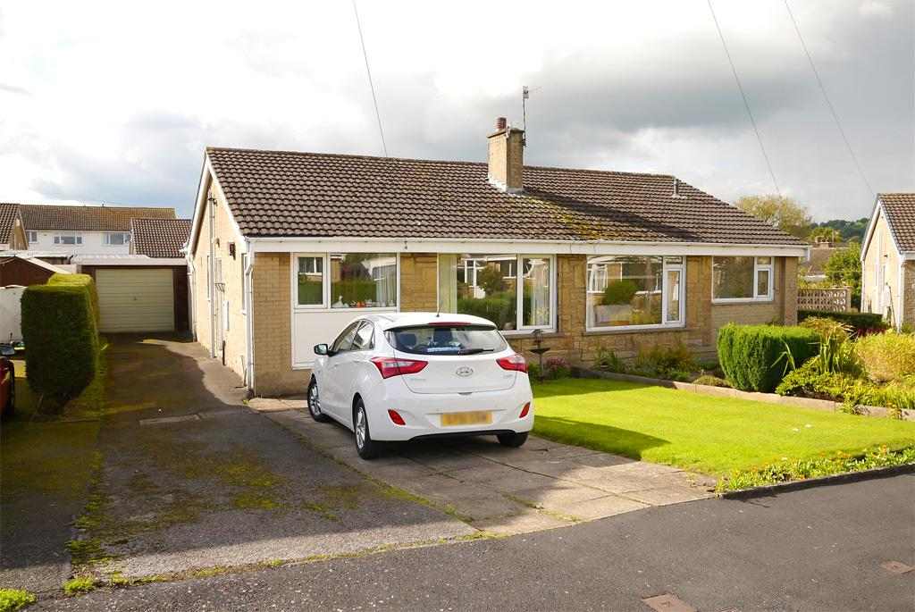 2 Bedrooms Semi Detached Bungalow for sale in 15 Gamel View, Steeton