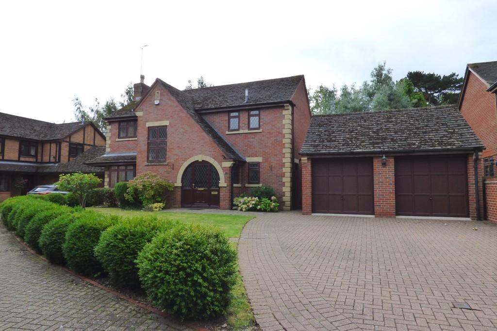 4 Bedrooms Detached House for sale in Rowley Hall Drive, Rowley Park, Stafford