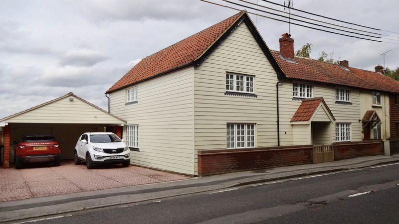 4 Bedrooms Semi Detached House for sale in The Street, Sheering, Bishops Stortford