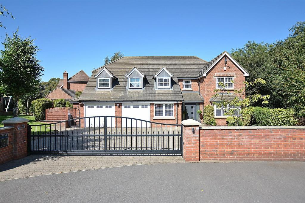 4 Bedrooms Detached House for sale in Paddock Close, Mansfield