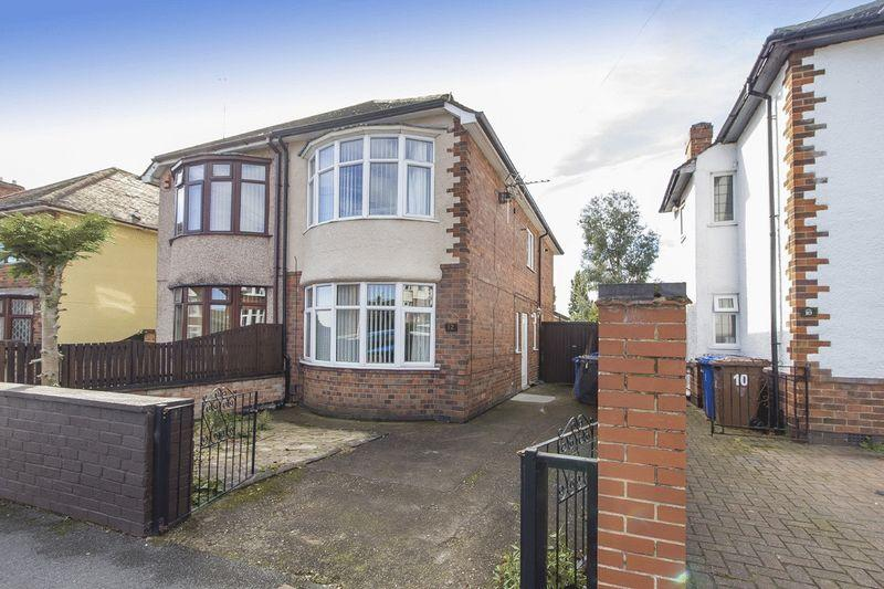 3 Bedrooms Semi Detached House for sale in SPINNEY ROAD, CHADDESDEN