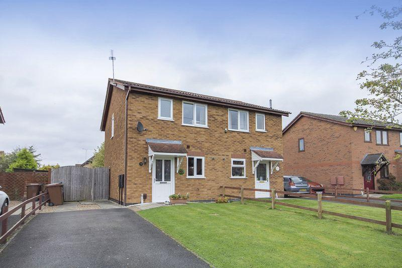 2 Bedrooms Semi Detached House for sale in IRVINE CLOSE, STENSON FIELDS