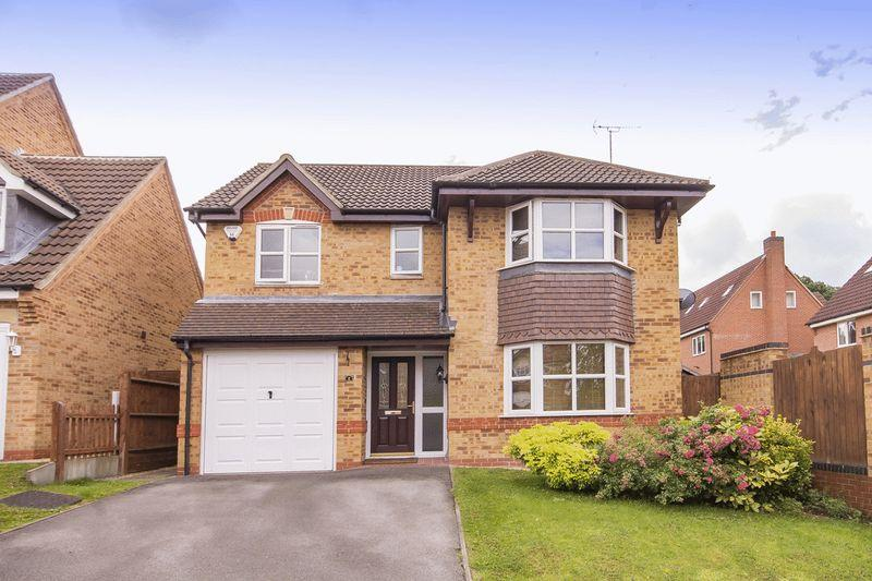 4 Bedrooms Detached House for sale in HEDGEVALE CLOSE, LITTLEOVER