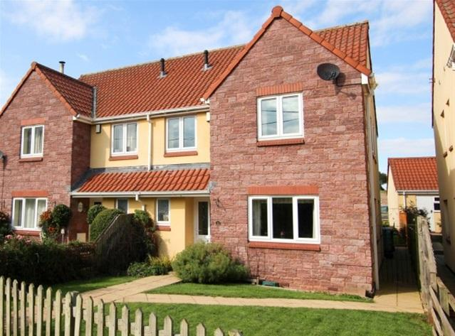 4 Bedrooms Semi Detached House for sale in Withiel Drive, Cannington, Bridgwater