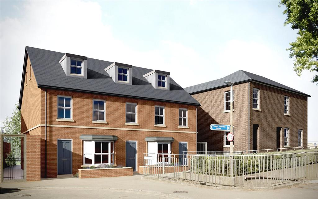 3 Bedrooms Apartment Flat for sale in Brewery Mews, Church Road, Watford, Hertfordshire, WD17