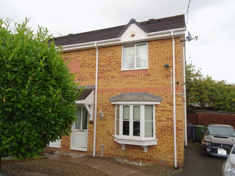 3 Bedrooms Semi Detached House for sale in Oakleigh, Wrexham