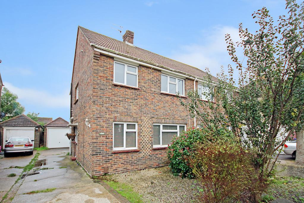 3 Bedrooms Semi Detached House for sale in Upper Shoreham Road, Shoreham-by-Sea, BN43 6TA