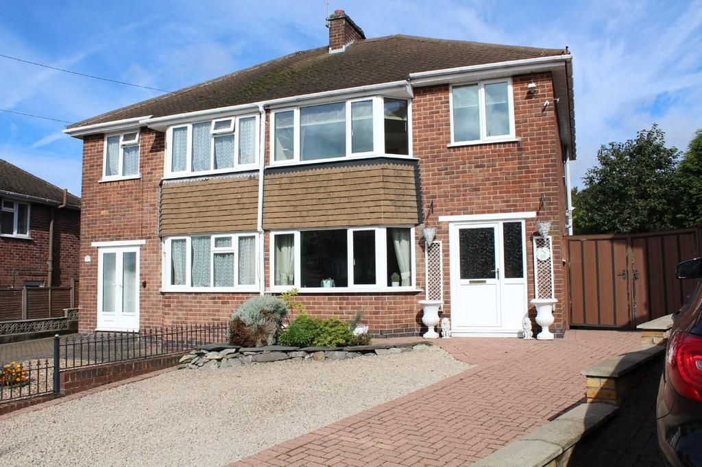 3 Bedrooms Semi Detached House for sale in St. Bernards Road, Whitwick
