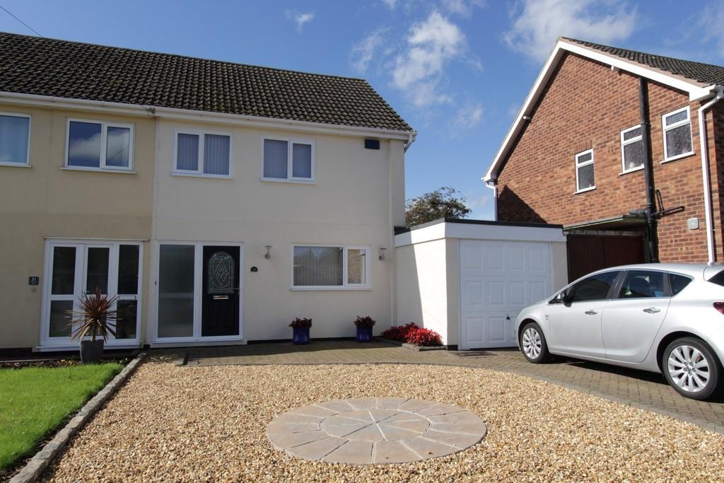 3 Bedrooms Semi Detached House for sale in Claremont Road, Coton Green
