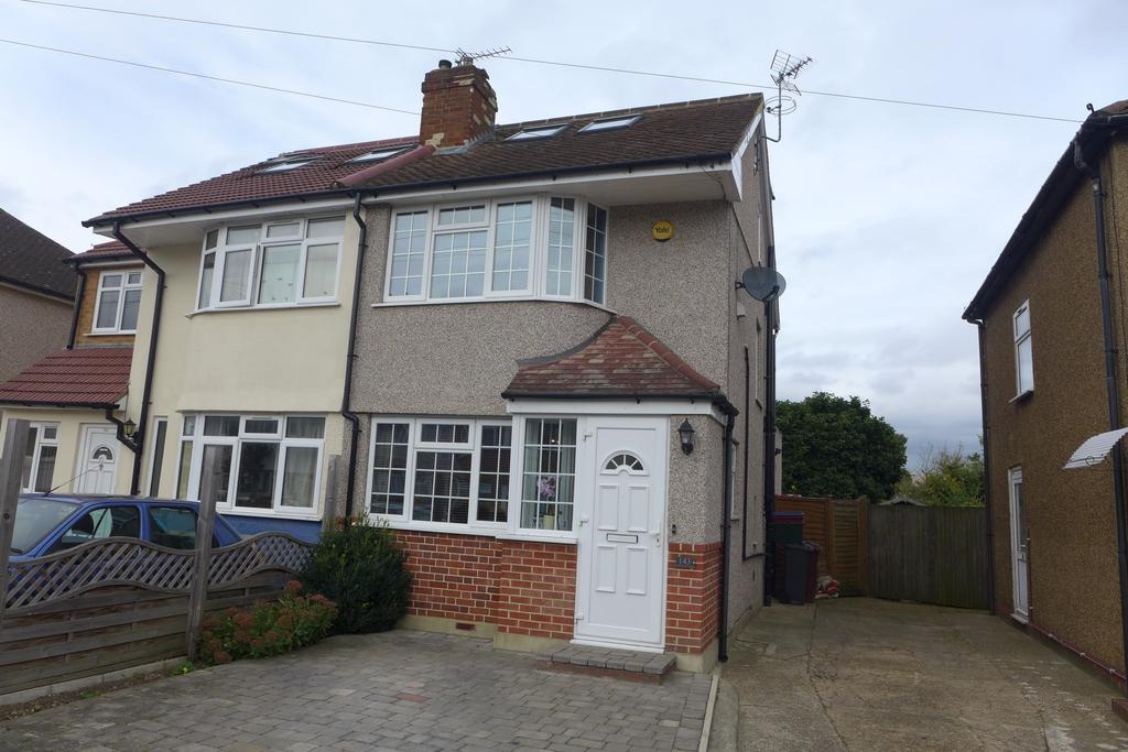 3 Bedrooms Semi Detached House for sale in Northumberland Crescent, Feltham