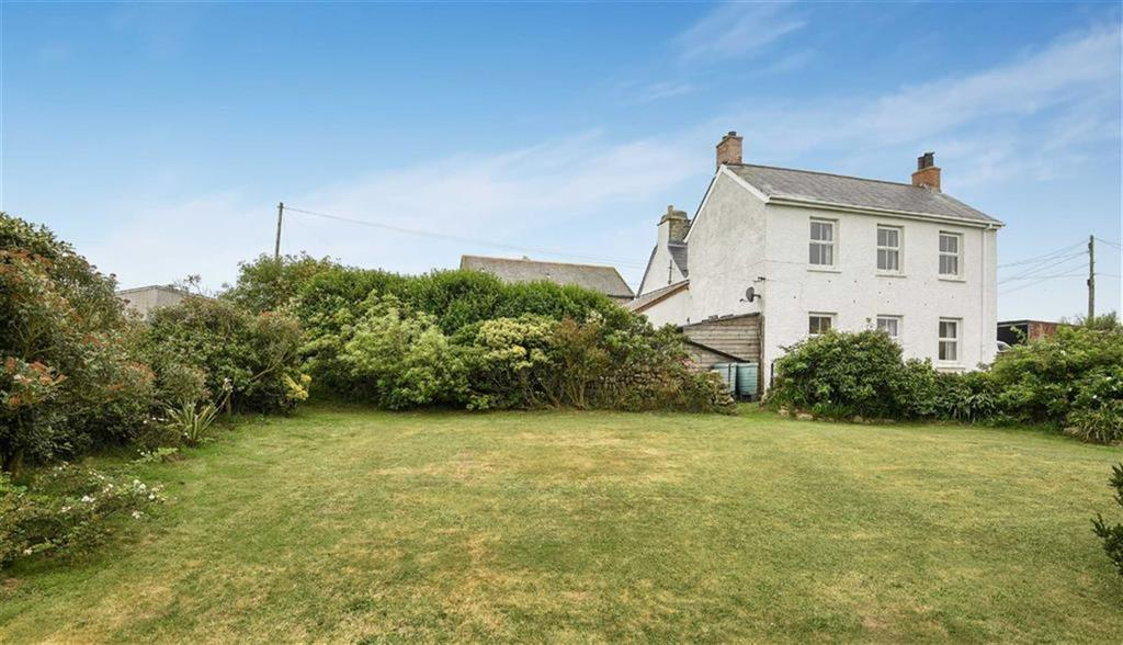 4 Bedrooms Detached House for sale in Gurnards Head, Gurnards Head, St Ives, Cornwall, TR26