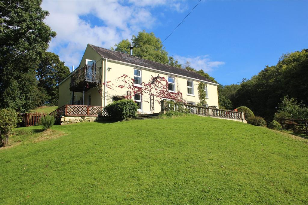 6 Bedrooms Detached House for sale in Pentre Ty Gwyn, Llandovery, Carmarthenshire