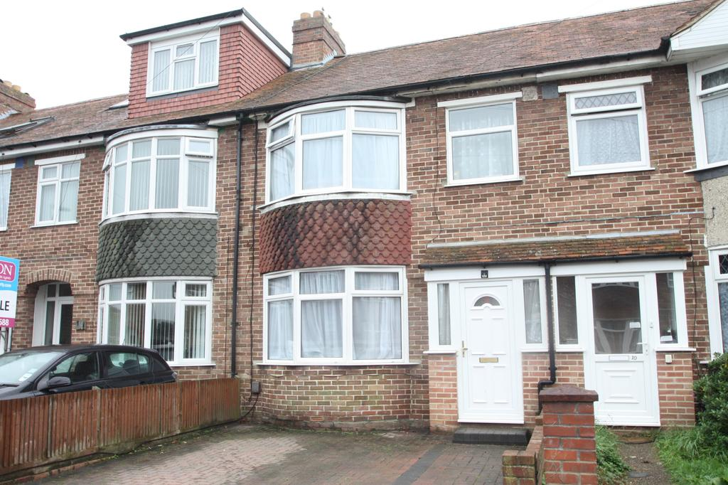 3 Bedrooms Terraced House for sale in Amberley Road, Elson, Gosport PO12
