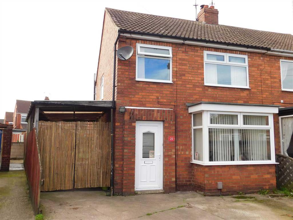 3 Bedrooms Semi Detached House for sale in WOOLIN AVENUE, SCUNTHORPE