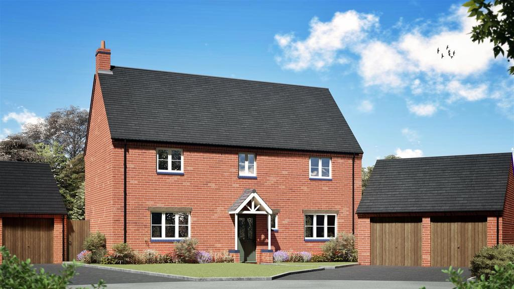 4 Bedrooms Detached House for sale in Hammond Mews, Cottesbrooke Road, Naseby