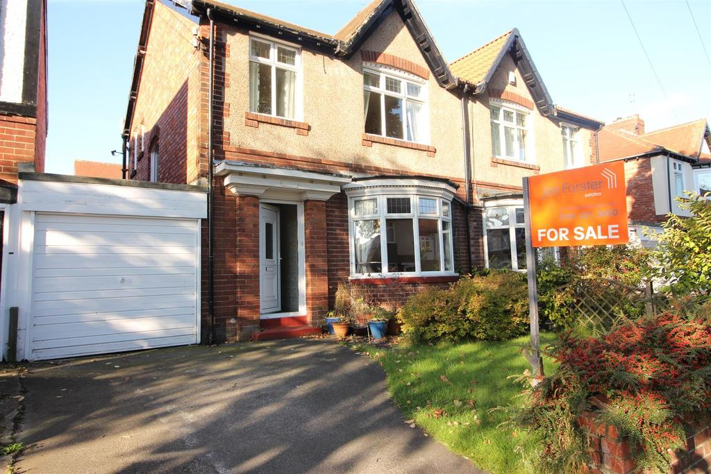 3 Bedrooms Semi Detached House for sale in Meadow Road, Monkseaton, Whitley Bay