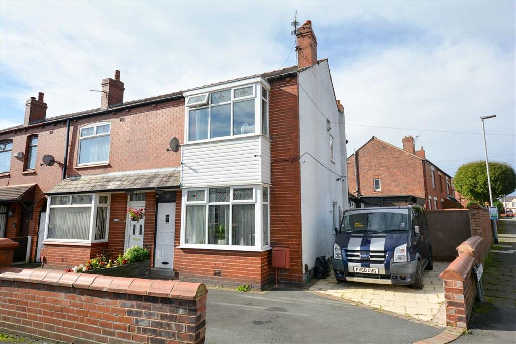 2 Bedrooms End Of Terrace House for sale in Barnsley Street, Springfield, Wigan, WN6