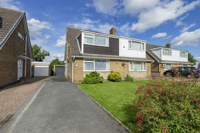 3 Bedrooms Semi Detached House for sale in ALLESTREE CLOSE, ALVASTON