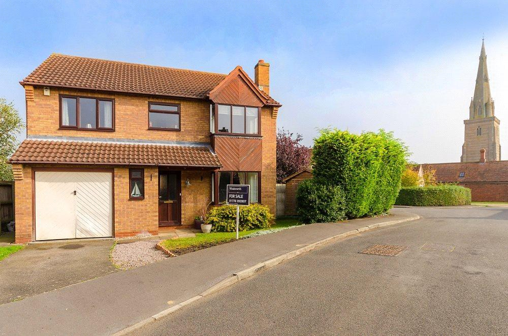 4 Bedrooms Detached House for sale in Headland Way, Haconby, Bourne, PE10