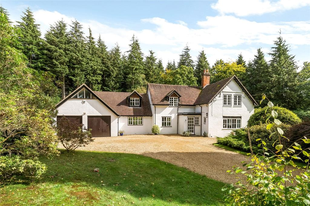 5 Bedrooms Detached House for sale in Jermyns Lane, Ampfield, Romsey, Hampshire, SO51