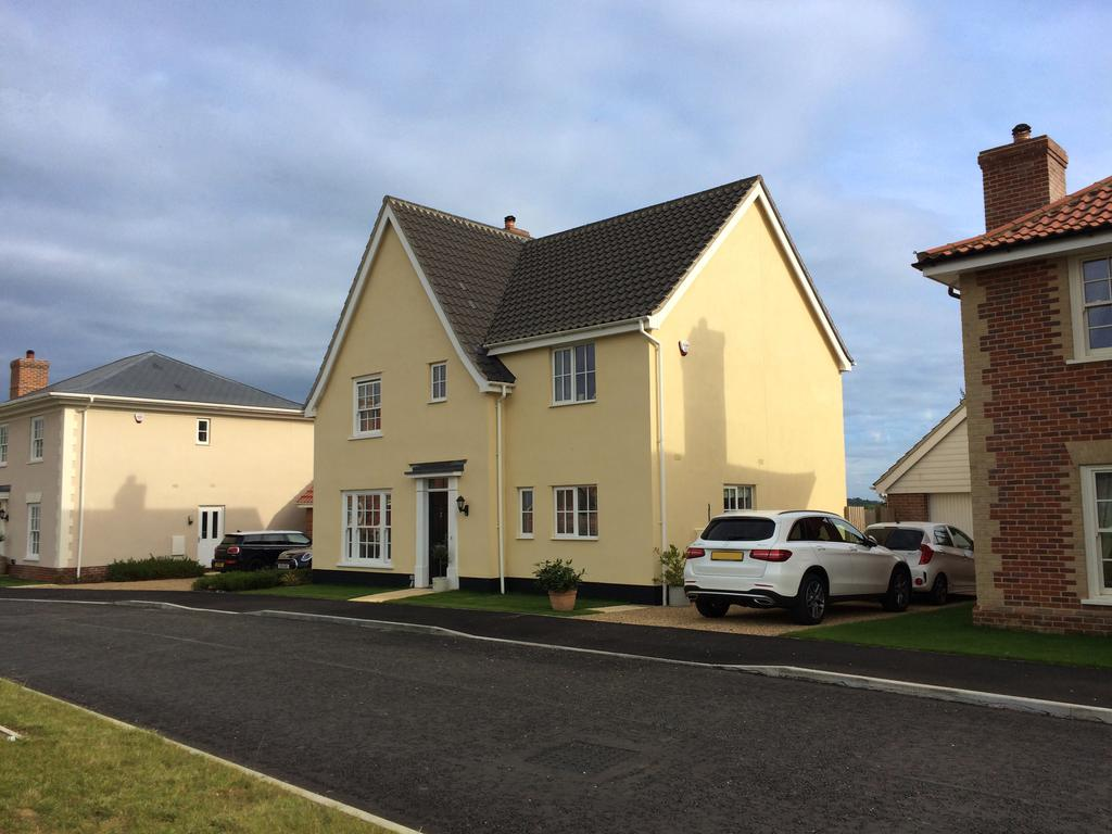 4 Bedrooms Detached House for sale in Barrow, Bury St Edmunds IP29