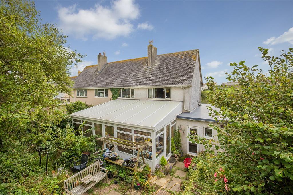 5 Bedrooms Semi Detached House for sale in Higher Park, East Prawle, Kingsbridge, Devon, TQ7