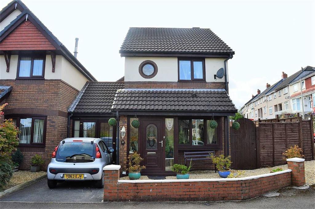 2 Bedrooms Link Detached House for sale in Clos Burlais, Swansea, SA5