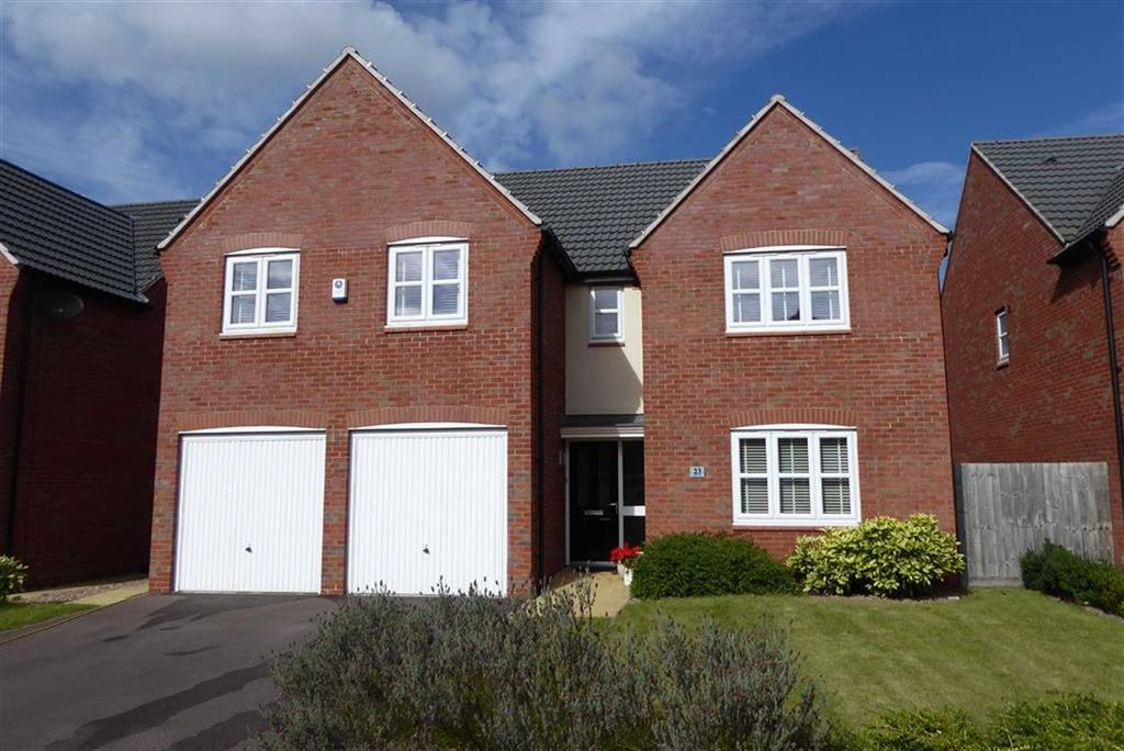 5 Bedrooms Detached House for sale in Lodge Close, Leicester Forest East