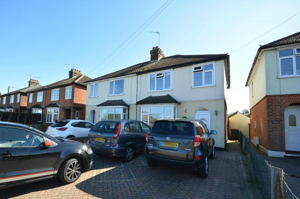 3 Bedrooms Semi Detached House for sale in Coggeshall Road, Braintree, Essex, CM7