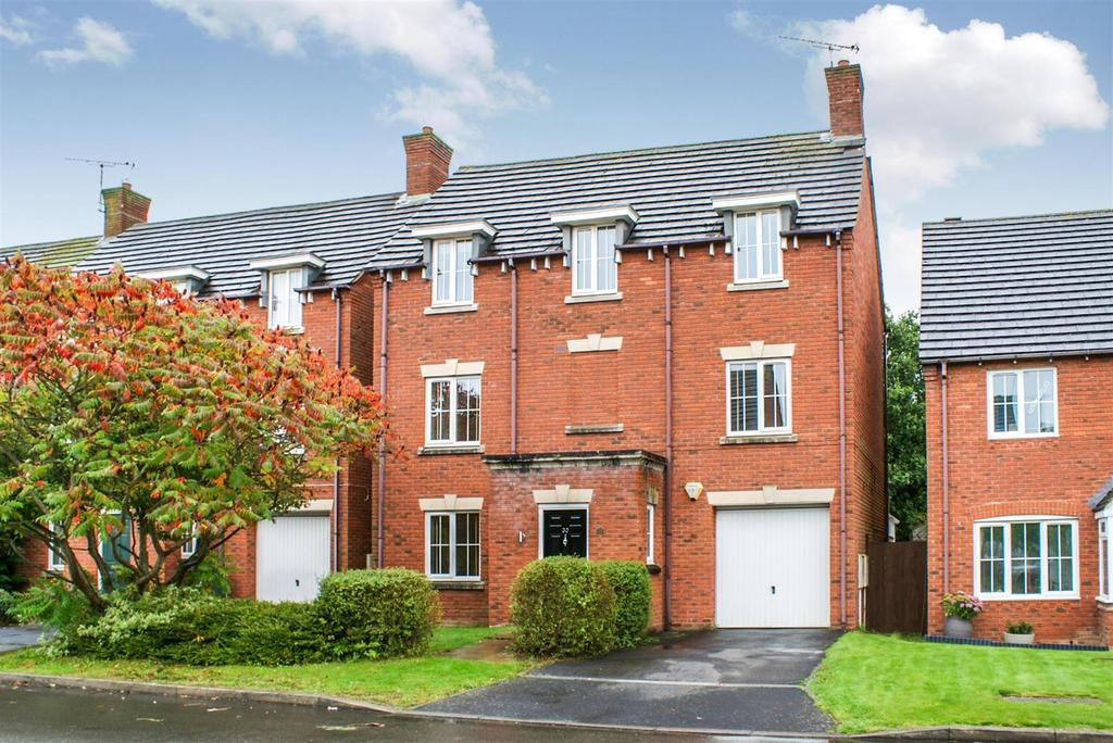 4 Bedrooms Detached House for sale in Holyoke Grove, Whitnash, Leamington Spa