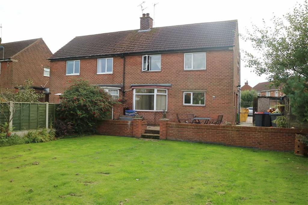 3 Bedrooms Semi Detached House for sale in Stamper Crescent, Skegby, Notts, NG17