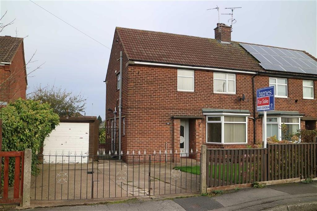 3 Bedrooms Semi Detached House for sale in Stamper Crescent, Skegby, Notts, NG17