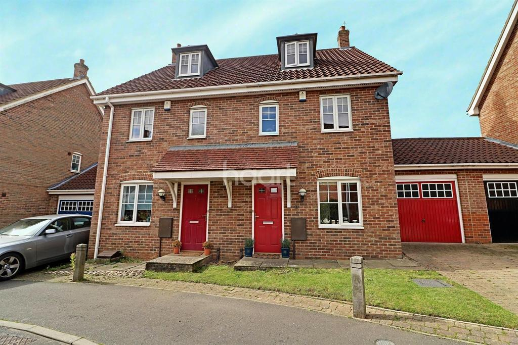 3 Bedrooms Semi Detached House for sale in Attelsey Way