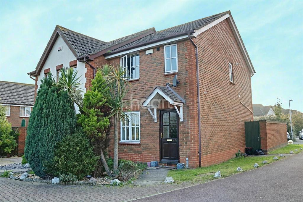2 Bedrooms Semi Detached House for sale in Harebell Close