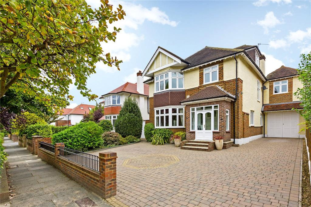 5 Bedrooms Detached House for sale in Sheen Common Drive, Richmond, Surrey, TW10